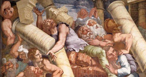 gigantomaquia en el arte significado y para qué se usó