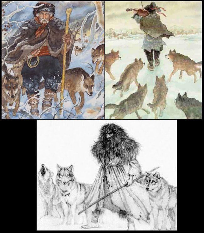meneur de loups lider de lobos lobero