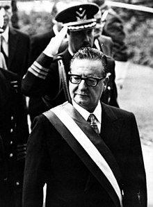 Allende como Presidente del Gobierno de Chile