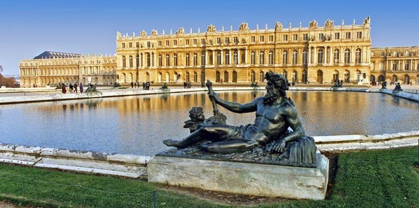 El majestuoso Palacio de Versalles.