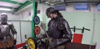 armadura medieval resistencia física protección