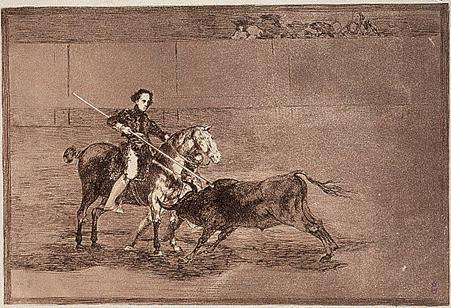 mujeres torera pajulera goya