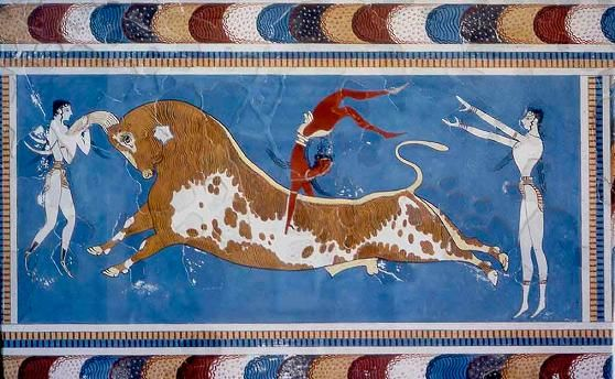 tauromaquia griega grecia