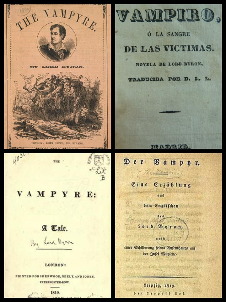 el vampiro john william polidori personajes