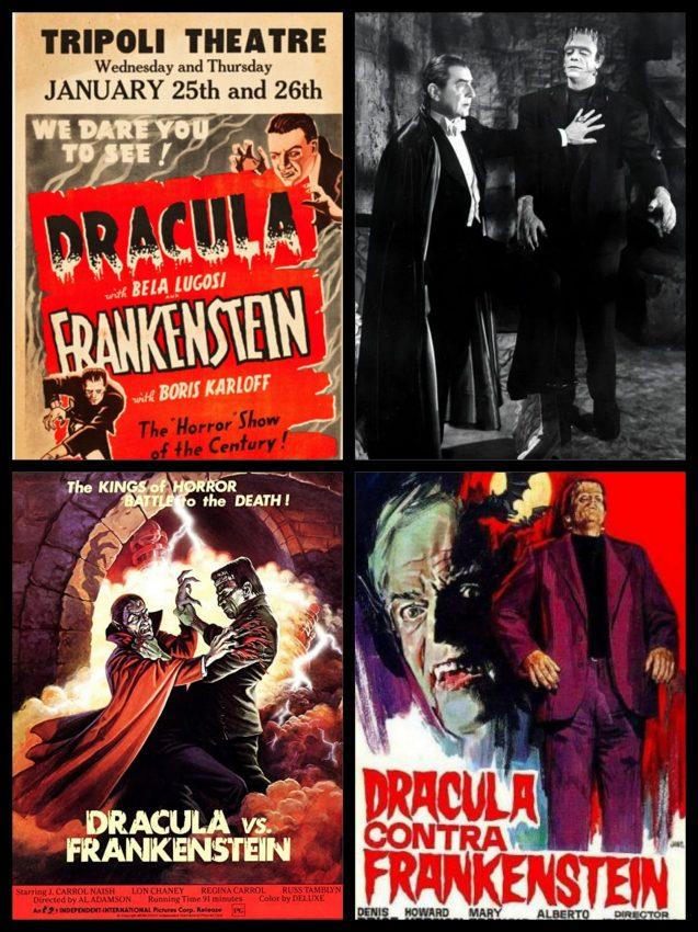 el Vampiro criatura frankenstein