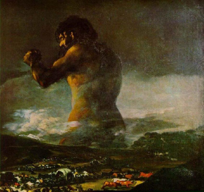 """""""El Coloso"""", de Francisco de Goya"""