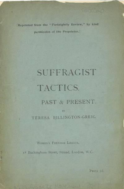 Ensayos de Teresa Billington