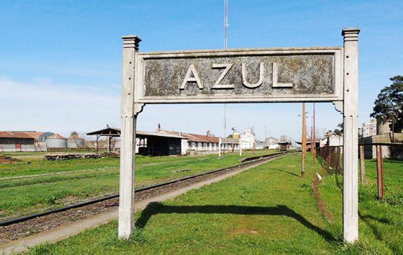 Ciudad de Azul Argentina pampa