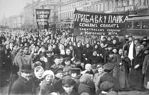 Revolucion rusa mujeres