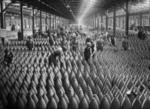 Trabajadoras en la I Guerra Mundial