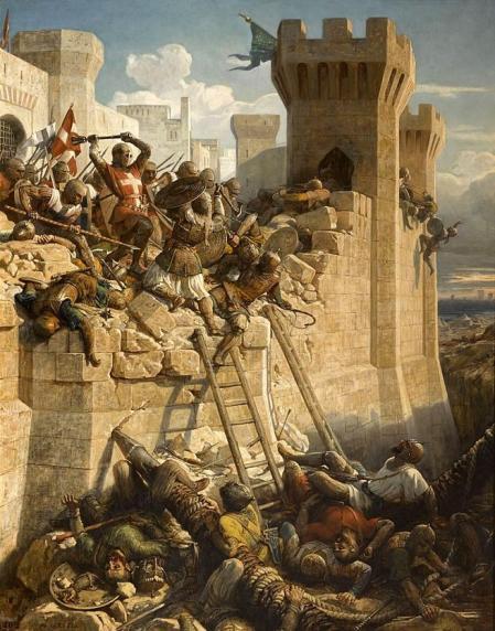 'La caída de Acre', punto clave en el final de las cruzadas