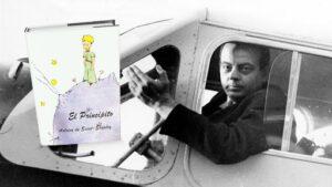 Antoine de Saint-Exupéry avión aviador
