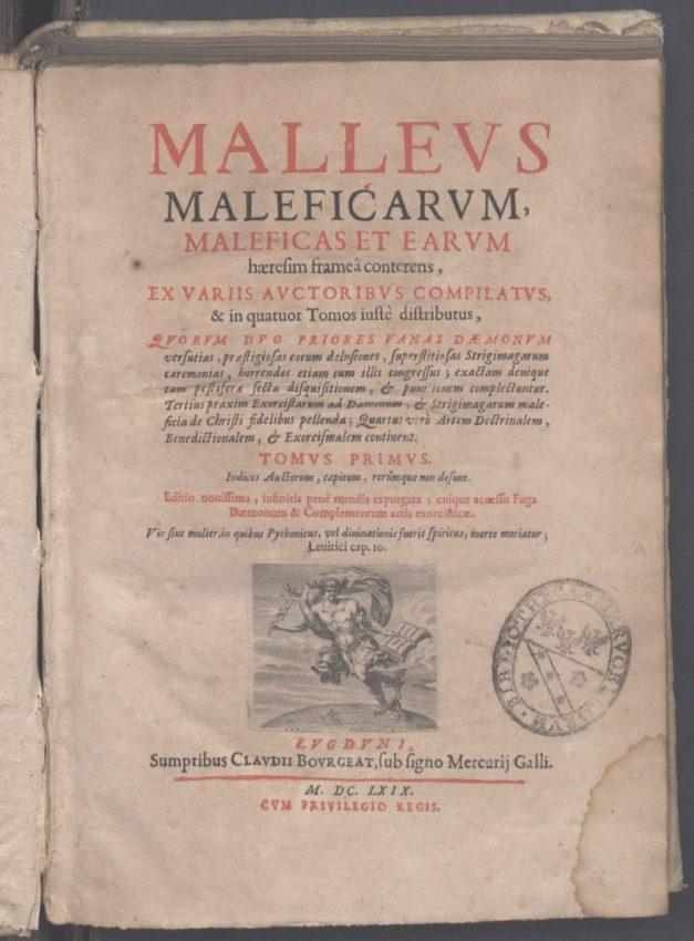 Malleus Maleficarum El Martillo de las Brujas Demonología