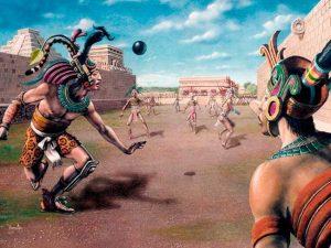 Los deportistas juegan con sus destinos y con la muerte en una armoniosa conjunción entre lo profano y lo divino.