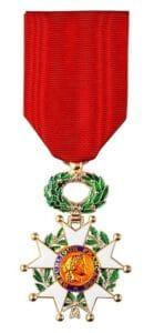 Cruz de la Legión de Honor francesa