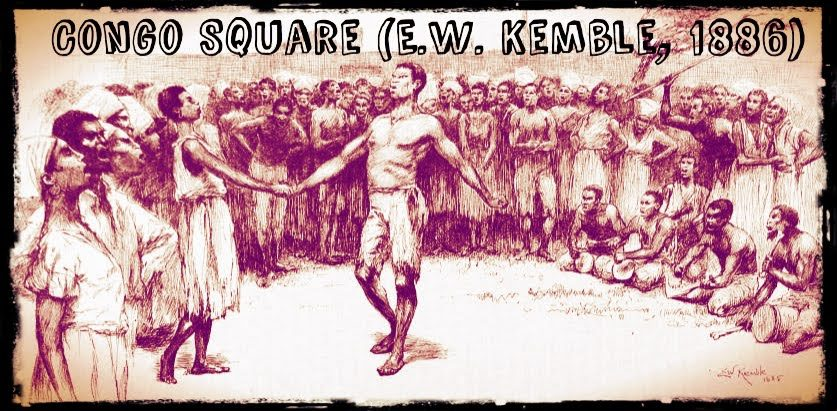 Congo Square Plaza del Congo Nueva Orleans siglo XIX