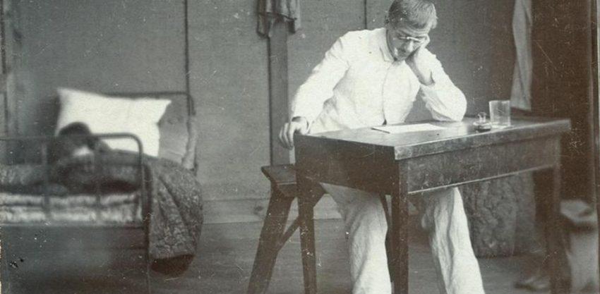 Dreyfus en la prisión de la Guayaba francesa