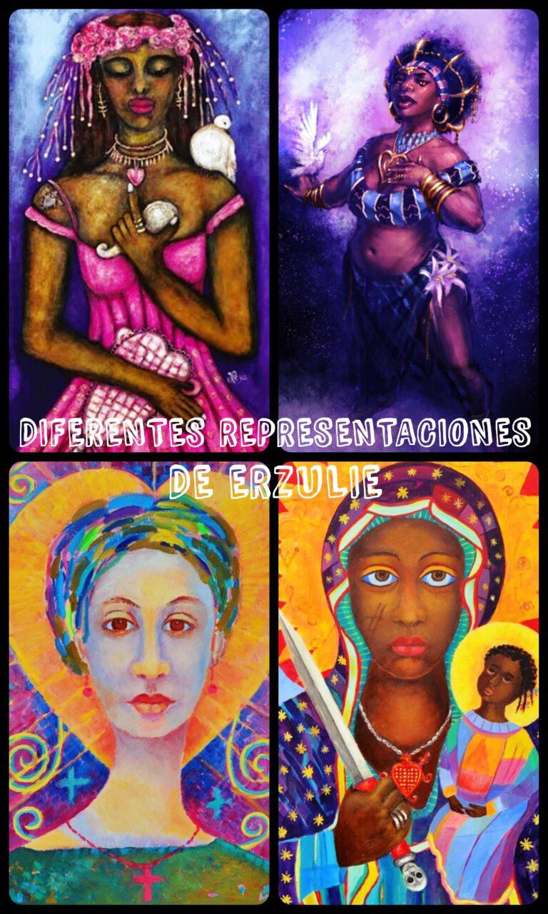 Erzulie loa Voudou vudú religión africana