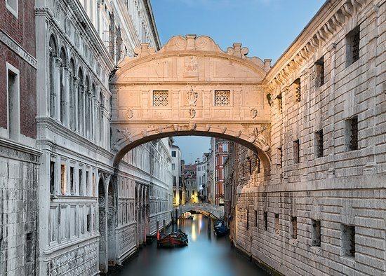 Cárcel de los Plomos en el Palacio Ducal, de donde se fugó Casanova.