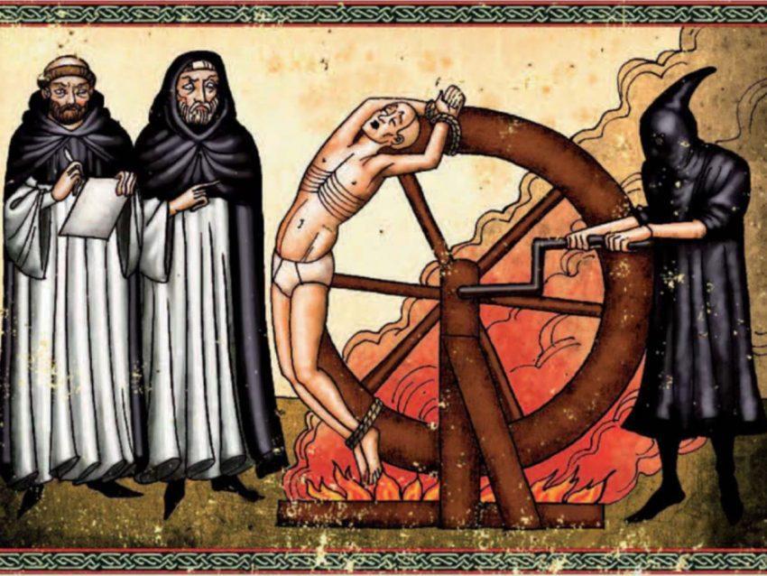 """Castigo por el """"pecado negando"""" homosexualidad a bordo de un galeón"""