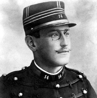 Retrato de Alfred Dreyfus