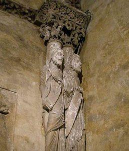 Apóstoles en la Cámara Santa de Oviedo