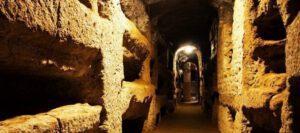 catacumbas cristianas de Roma San Calixto