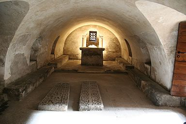 Cripta de la Cámara Santa de Oviedo