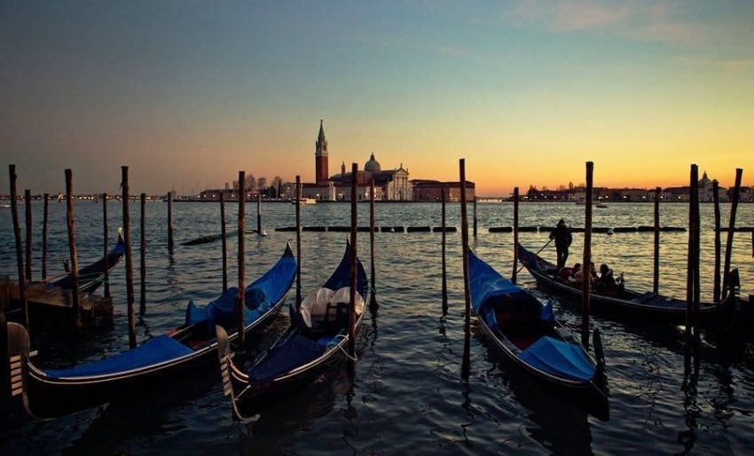 La sorprendente belleza de Venecia.