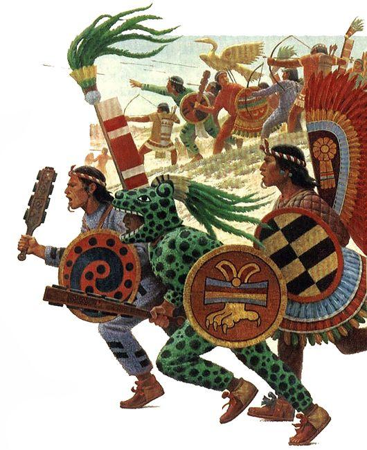 Guerreros mexicas