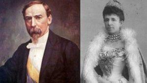El presidente colombiano Carlos Holguín Mallarino cedió el tesoro a la reina española María Cristina en 1893 (Foto: dominio público)