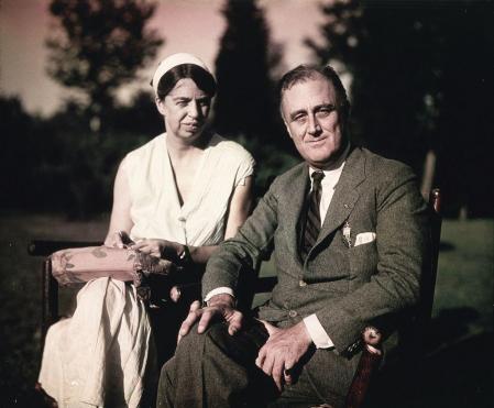 Eleanor y Franklin Delano Roosevelt