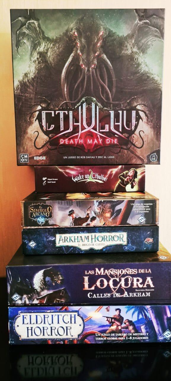 lovecraft juegos de mesa