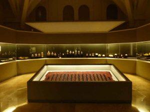 La sala del tesoro en el museo madrileño.