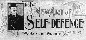 EW Barton Wright bartitsu