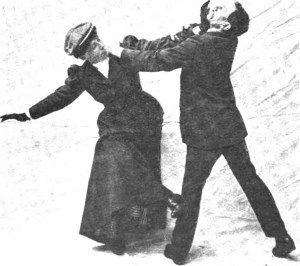 suffrajitsu mrs. pankhurst's