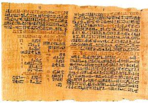 Medicina y magia en el Antiguo Egipto: Papiro Ebers.