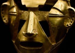 Cabeza de oro quimbaya