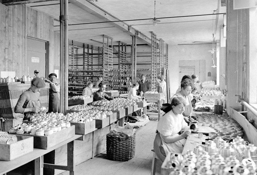 Fabricas mujeres I Guerra Mundial