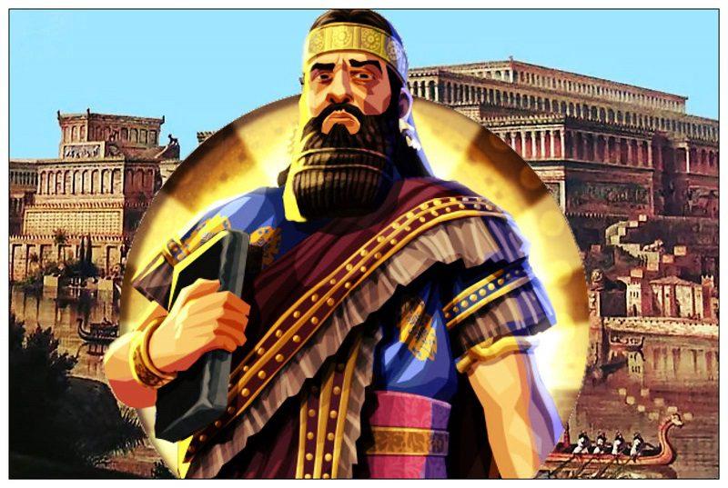 Asurbanipal rey de Asiria ultimo gran rey imperio asirio mesopotamia