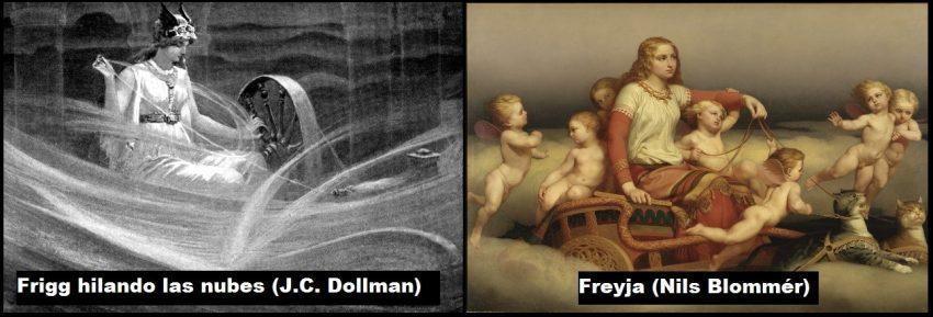 Frigga/Frigg Freya/Freyja
