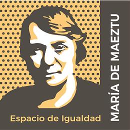 Logotipo del Espacio de Igualdad María de Maeztu