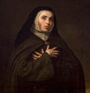 Retrato de María Fernández Coronel pintado por Joaquín Domínguez Bécquer en 1857. Fuente: wikipediacommons