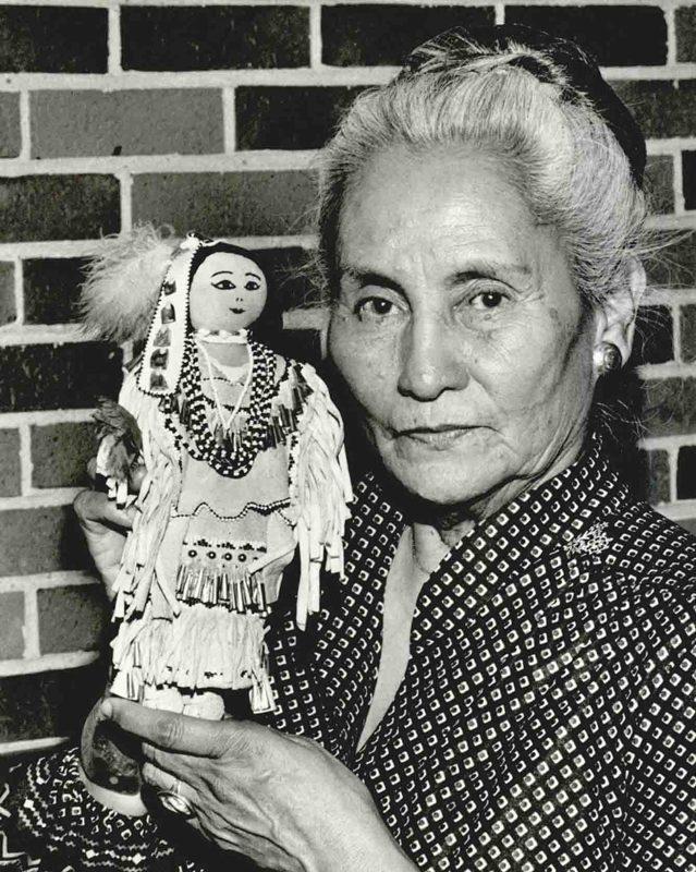 Mildred Cleghorn - jefa de los Apaches