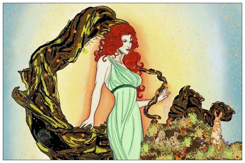 Ostara diosa germánica celta primavera Eostre Eostra