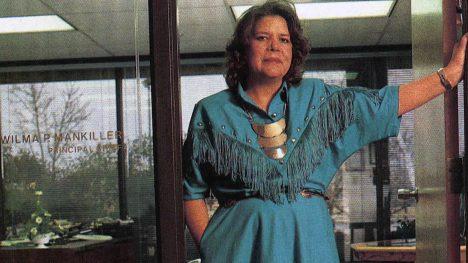 Vilma Mankiller Jefa de la nación Cherokee