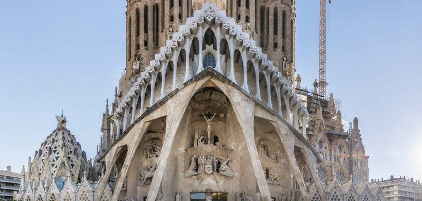 Antonio Gaudí - Fachada de la Pasión de la Sagrada Familia