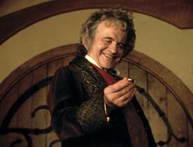 Ian Holm Bilbo Bolsón El Señor de los Anillos
