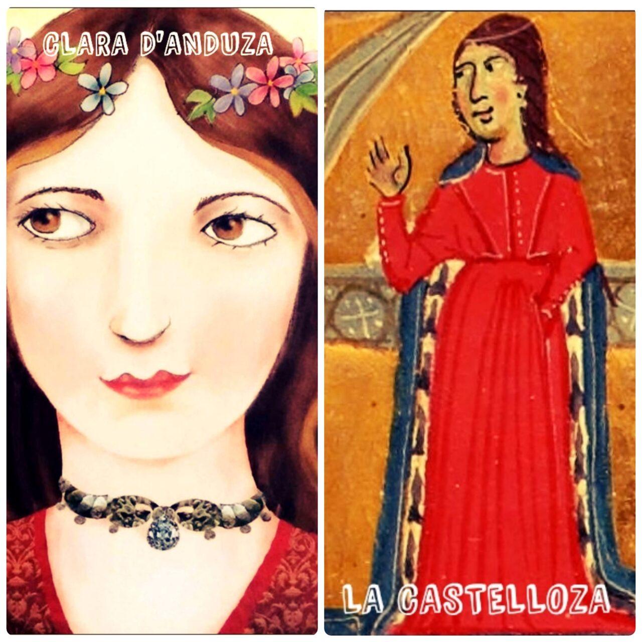Clara d'Anduza Castelloza trobairitz occitanas