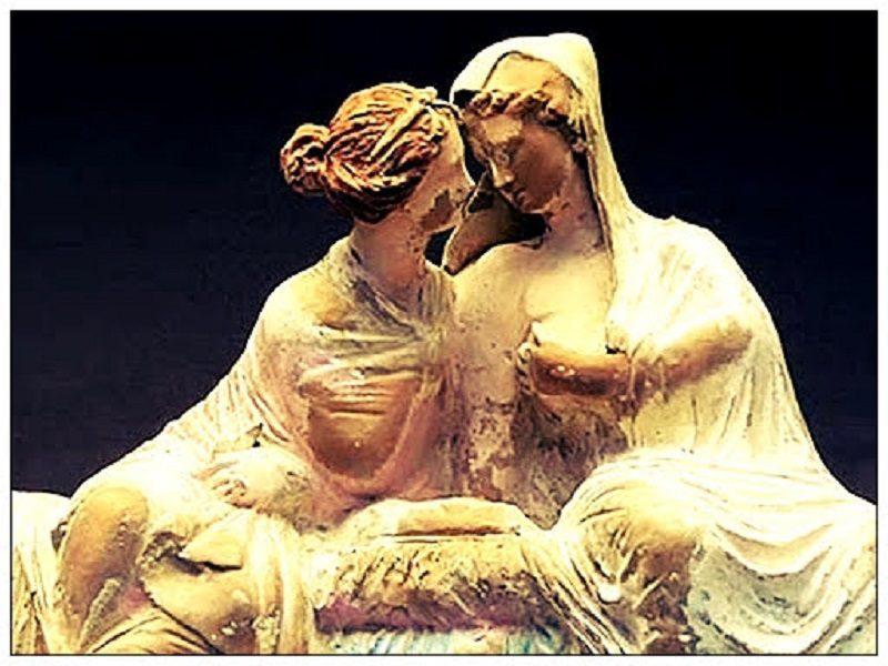 Deméter y Perséfone mito historia